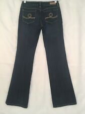 Seven 7 Boot Cut Jeans Womens Size 28 Dark Wash Actual 29 x 32