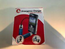 Cargador de emergencia para teléfonos móviles e iPod