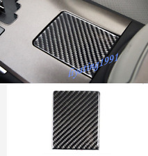 Carbon Fiber Water Cup Holder Panel Cover Trim For LEXUS IS250/300 2006-2011