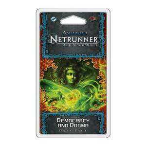 Android Netrunner LCG Democracy & Dogma Data Pack Card Game Fantasy Flight Games