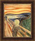 "Edvard Munch The Scream Framed Canvas Giclee Print 27""x32.5"" (V01-06)"
