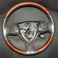 Lexus GS300 GS350 2006-2007 Driver Leather Steering Wheel with Woodgrain FEO