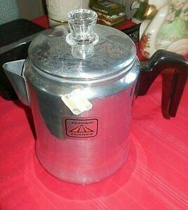 Aluminum Coffee Pot New