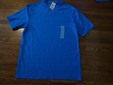 NWT Alfani Men's blue t shirt XS top stretch tee color vneck closer to 1st photo