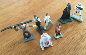 1994 Micro Machines STAR WARS Galoob Figurines Gun Gun Darth Vader Luke Han