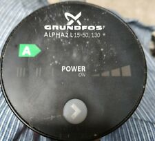 Grundfos Alpha2 L 15-5-130 Central Heating Pump, New, includes cable & fittings
