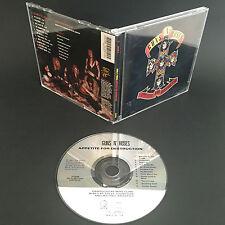 1987 Guns N' Roses - Appetite for Destruction CD - Uzi Suicide Records Geffen