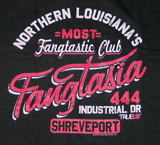 True Blood TV Series Fangtastic, Fangtasia Bar Ad T-Shirt Size SMALL, NEW UNWORN