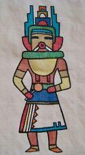 Vtg Navajo Frank Austin Bahahzhonie hand printed Nizhonie Fabric Advertising