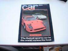 CAR       MAGAZINE       FROM  JULY   1988     ENGLISH MONTHLY