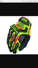 MECHANIX WEAR Hi-Viz M-PACT CR5 Safety Work Gloves SMP-C91-011 (X-LARGE)