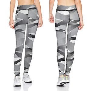 adidas Womens Ultimate Print AOP Leggings Ladies Full Length Sports Gym Tight