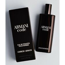 ARMANl CODE EAU DE TOILETTE 15ML FOR MEN SPRAY NEW BOXED