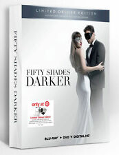 Fifty Shades Darker Blu-Ray DVD Digital HD Target Deluxe Edition 50