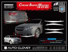 Front Chrome Bumper Molding Guard Garnish for Chevrolet Malibu 2012-2015