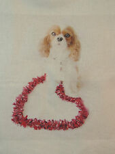 Blenheim Heart Light Weight Shopping Tote Cavalier King Charles Spaniel