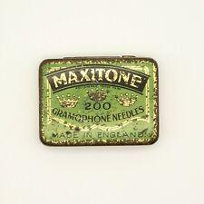 GRAMOPHONE NEEDLE TIN - Maxitone - Gramophone Needles (200) [NEEDLE TIN]