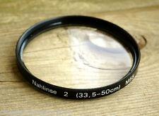 Lente attacco nahlinse 2 (33,5-50cm) FILTRO 55mm m55 schraubfassung (o2792