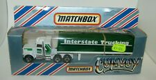 Matchbox Convoy CY5 Peterbilt Covered Truck LESNEY ENGLAND Base MIB