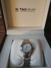 Tag Heuer Ladies Watch, Aquaracer, diamond bezel, beautiful , WBD1415