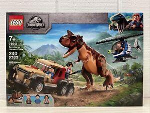 LEGO Jurassic World 76941 Carnotaurus Dinosaur Chase 240 Pcs NEW + Free Shipping