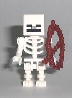 LEGO Minecraft - Skeleton - Figur Minifig Skelett Steve Creeper 21118 21114