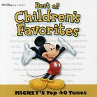 Mickey's Top 40 Tunes-Best Of Children's Favorites - Children's (2004, CD NEUF)