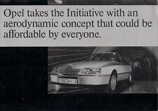 OPEL TECH 1 concept car 1981-82 marché britannique foldout brochure