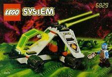 LEGO 6829 - Space UFO - Radon Rover - 1997 Complete w/ Manual - No Box