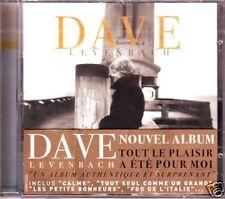 """DAVE """"Tout le plaisir a été pour moi"""" 2006 (CD) NEUF"""