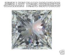 2.3mm PRINCESS SI1 CLARITY G COLOUR NATURAL DIAMOND