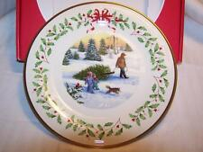 2013 LENOX Annual Holiday Collectors Plate 23rd in Series NIB MINT