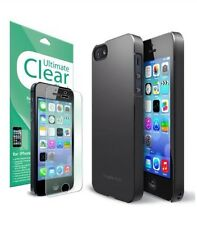 Apple Iphone 5/5s Case & Crystal Clear Screen Protector  2 In 1 Combo Package