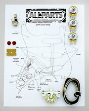 Allparts EP-4120-000 Wiring Kit for Stratocaster® - Made in USA