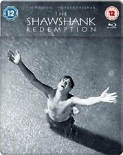 Shawshank Redemption Steelbook Blu-ray 2018 [DVD][Region 2]