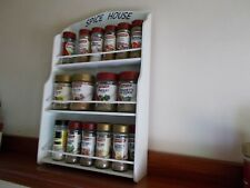 spice rack / Spice House/ new design will hold 14 to 28 jars /Made in OZ