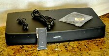 New listing Bose Solo Tv Home Theater Sound System - 410376 - Updated with Latest Software