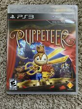 Puppeteer (Sony PlayStation 3, 2013) PS3 Free Shipping