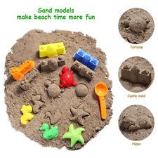 27pcs Kids Sand Molding Toys Activity Sand Art Kits Kinetic Animals Tool Mold