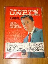 MAN FROM U.N.C.L.E WORLD DISTRIBUTORS BRITISH ANNUAL 1967 VG <