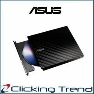 External DVD Burner ASUS SDRW-08D2S-U Lite For PC Laptop Mac WIN8/10 Black