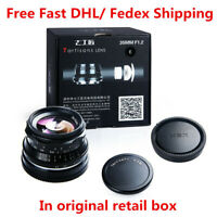 7artisans 35mm F1.2 Large aperture Lens for Sony E Fuji X Olympus M4/3 Canon EOS