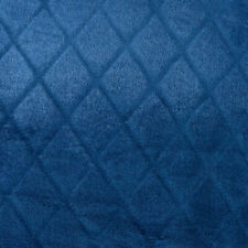 "Cozelle ""Royal"" Diamond Embossed Plush Blanket in Sapphire - King"