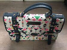 Paul's Boutique Aztec Handbag Leopard Print Detail