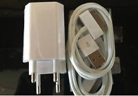 2x Europe USB Power Adapter Wall Charger+Cable For apple iPod Touch iPhone 4G 4S
