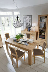 Sonoma oak extending dining table, modern, high quality, perfect size 120cm!