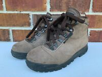 Vintage VASQUE Womens BROWN Mountaineering Hiking Leather Boots SIZE 6 M