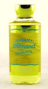Creamy Almond Sunflower Shower Gel Bath & Body Works 10oz NEW wash ginger clove