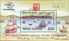 Indonesia block118 mint never hinged mnh 1997 Stamp Exhibition