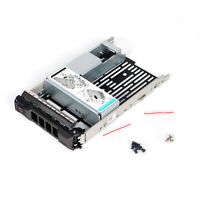 """3.5"""" inch Hard Drive Tray Caddy w/2.5"""" Adapter For Dell POWEREDGE R430 R530 R730"""